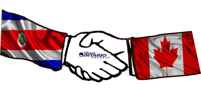 Toronto To Costa Rica Cargo Shipping