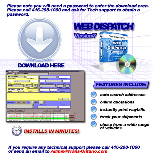 Web Dispatch